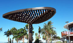 Shade Structure with Bling