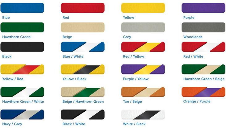 HDPE Colour Chart